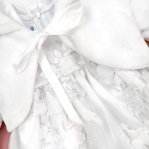nježan bijeli komplet za krštenje Magnolia