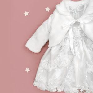 Magnolia haljina u kompletu s toplom bundicom