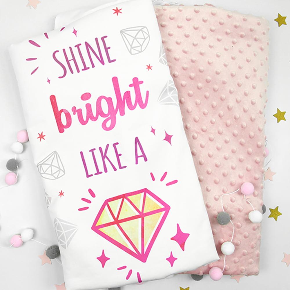 Diamond rozi print na deki