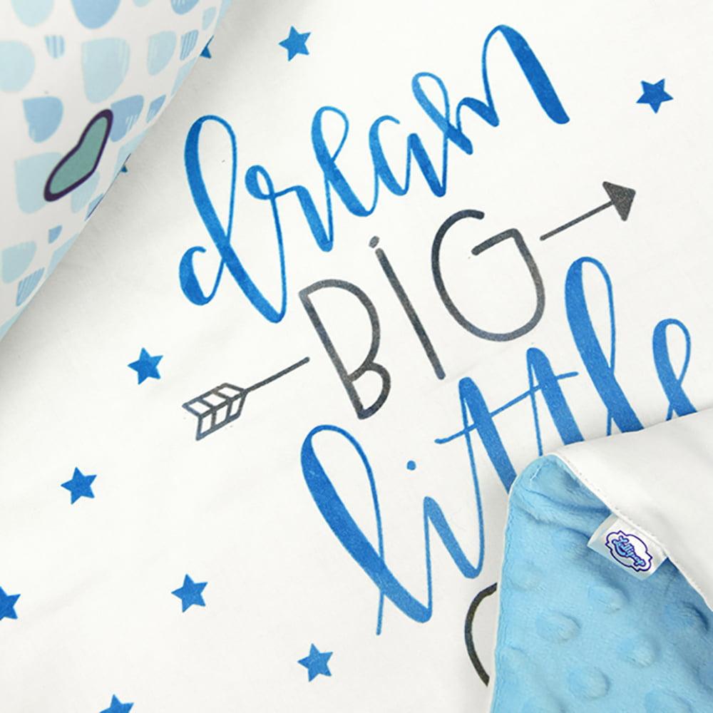 Plava deka s oblak jastukom