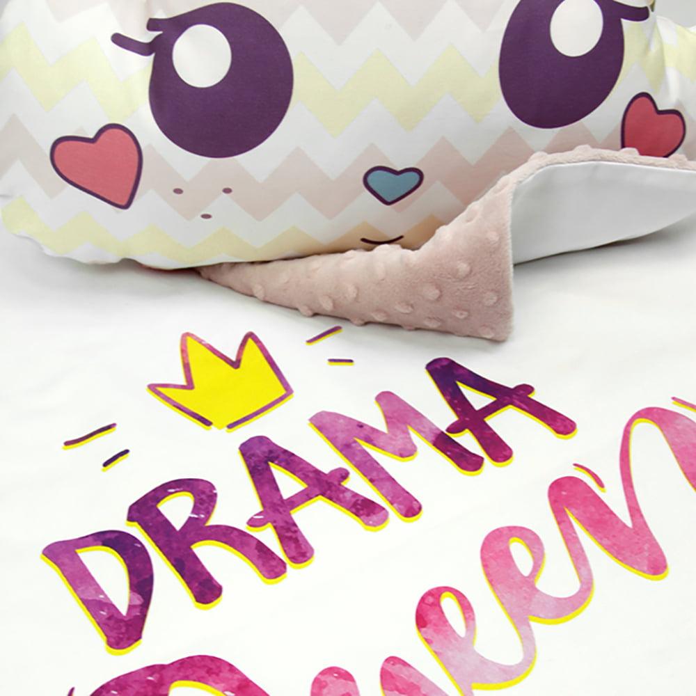 Roza deka s oblak jastukom