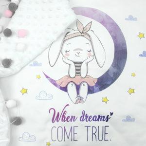 Ilustracija mjeseca za male bebe