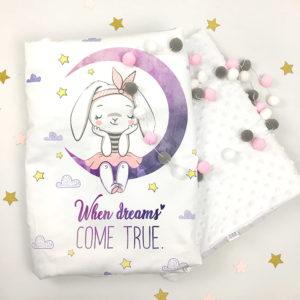 Zeko minky deka za novorođenčad
