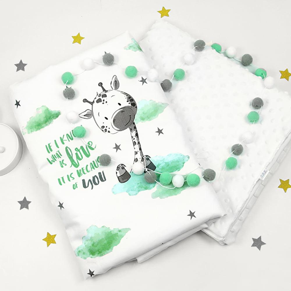 Deka žirafica za novorođenčad