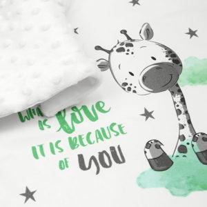 Inspirativni natpis sa žiraficom