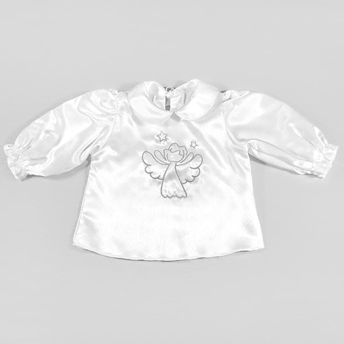 krsna košuljica sa srebrnim anđelom