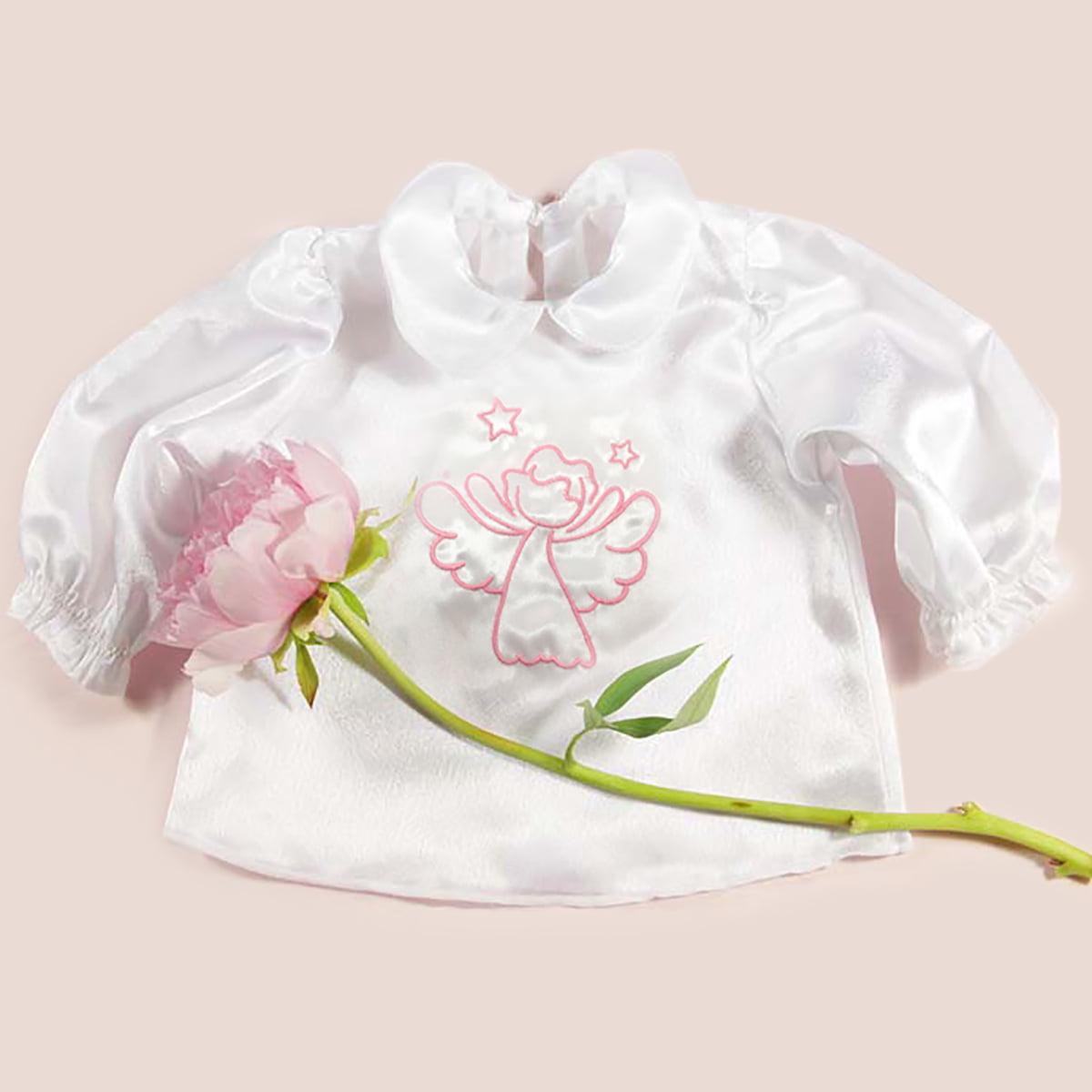 krsna košuljica s rozim anđelom