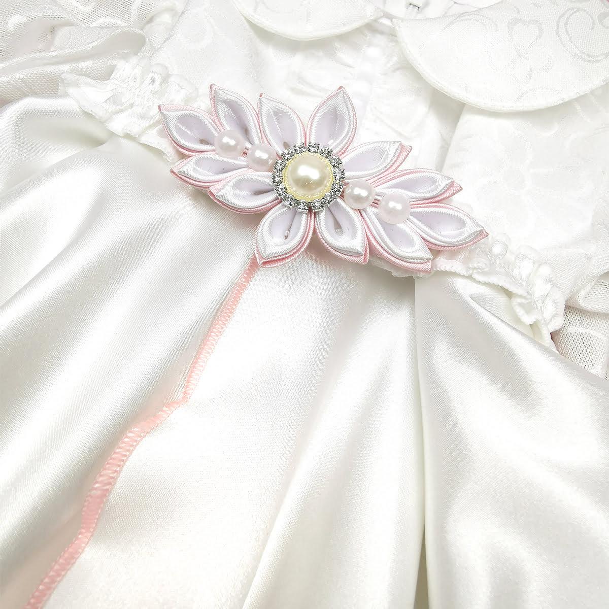 ukras rozi kompletića za krštenje Morning rose
