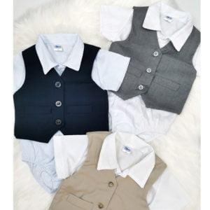 3 boje krsnih ljetnih kompleta za bebe