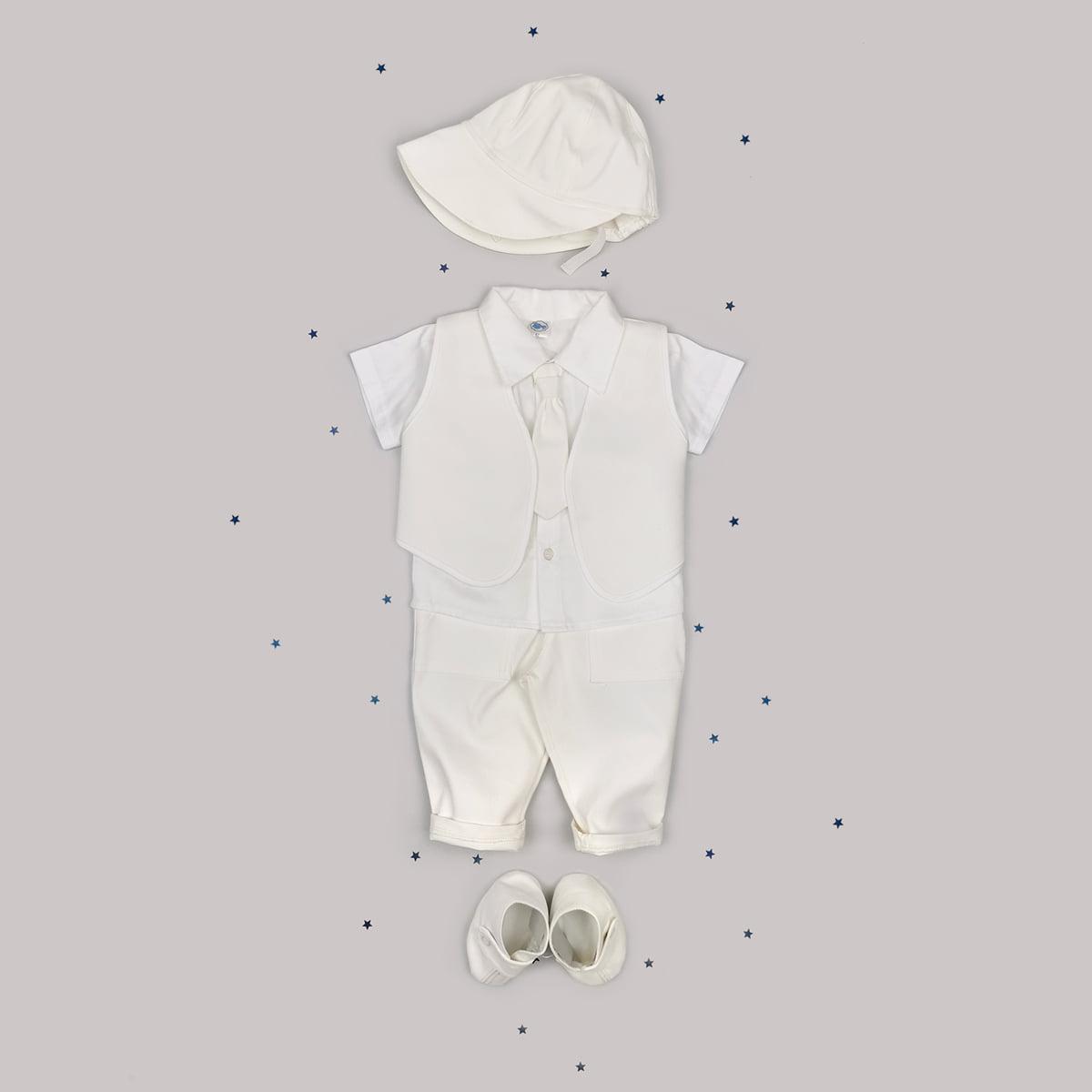 Bijelo odijelo za krštenje Mr. white