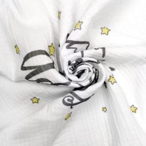 super kvalitetan meki print na muslin peleni