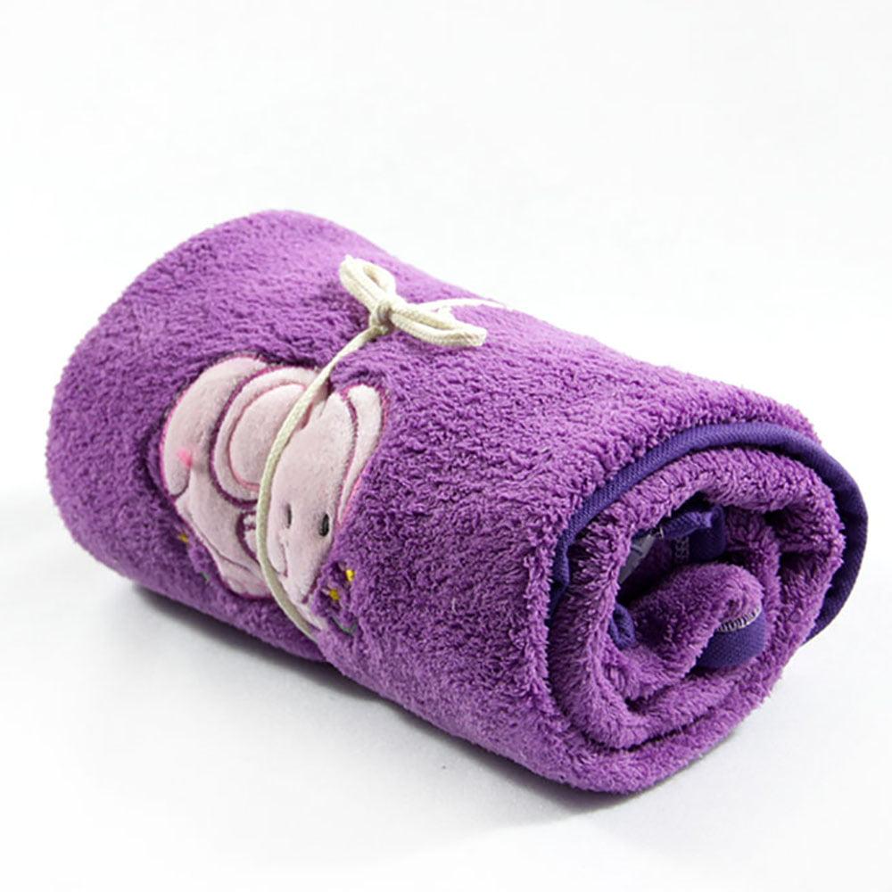 Topla ljubičasta deka za djecu