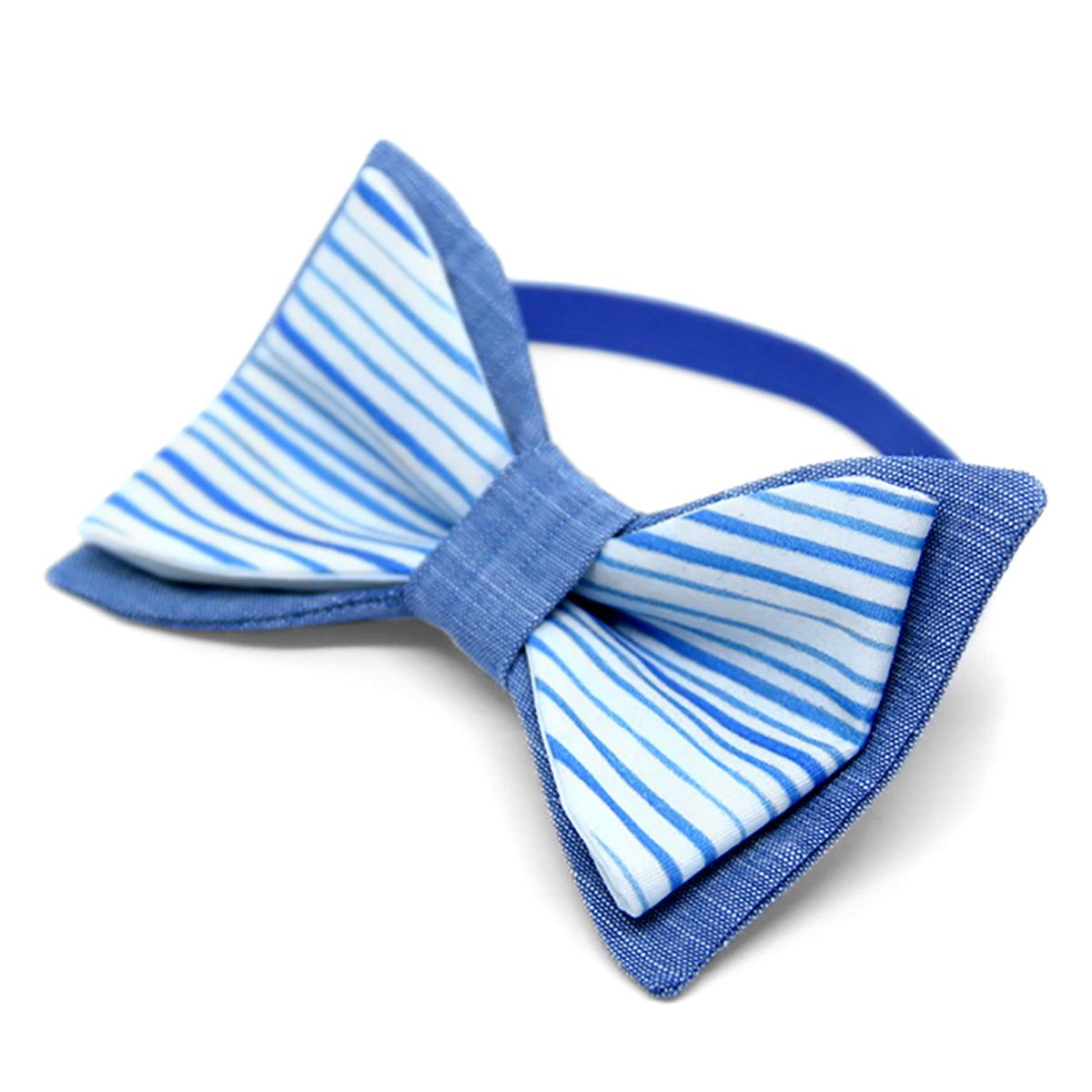 plavo more leptir mašna za bebe, dječake i odrasle