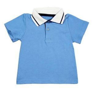 polo plava majica za bebe