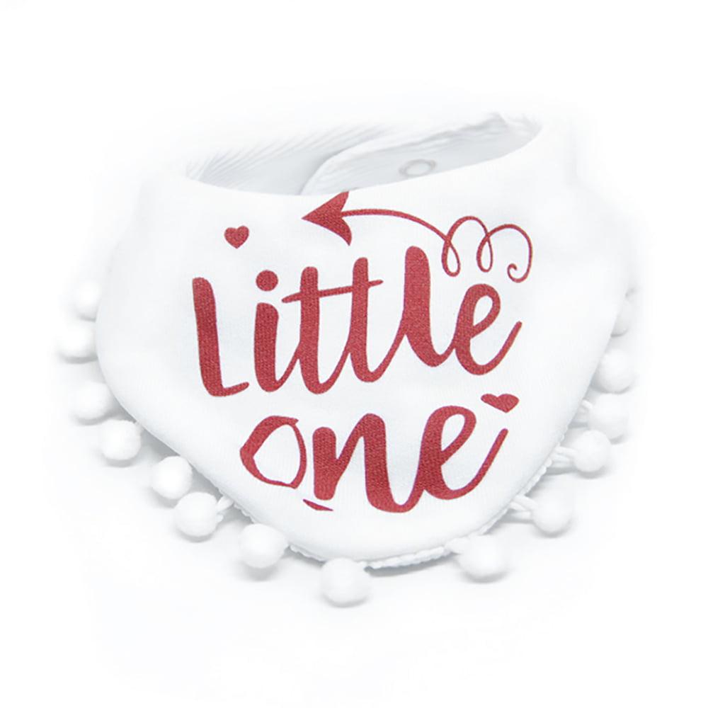 Little one bijeli pom pom slinček marama