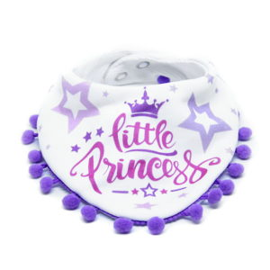 Little princess pom pom slinček marama