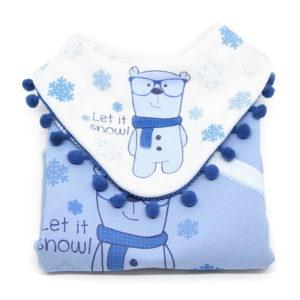 Let it snow komplet za božić za bebe