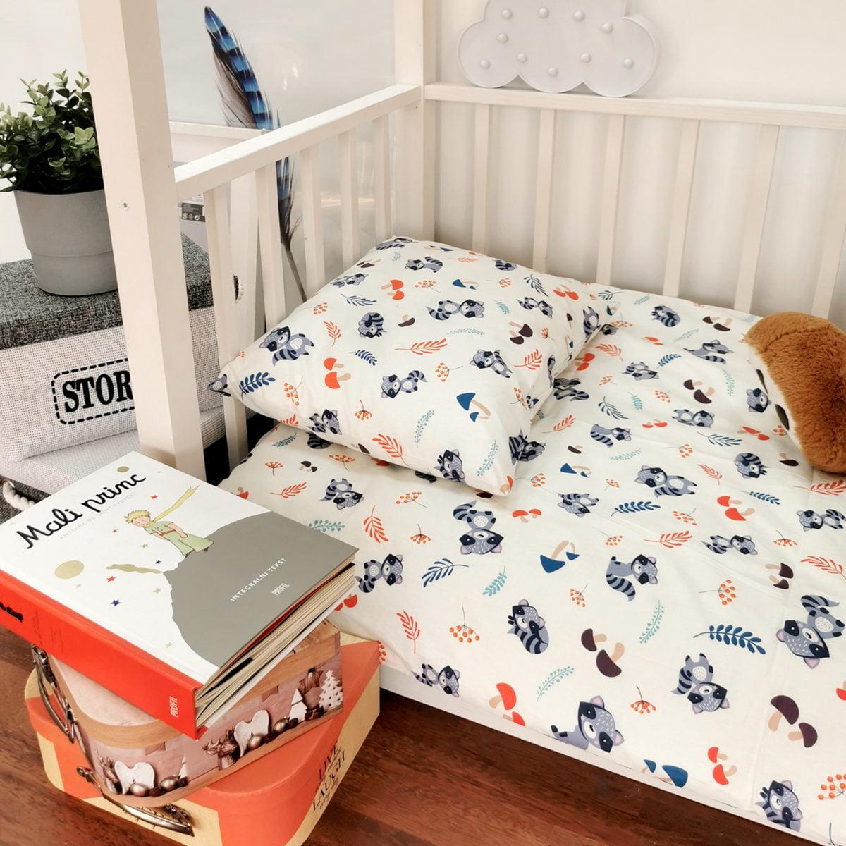 rakuni unisex posteljina za djecu