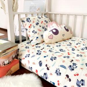 rakuni posteljina u dječjoj sobi