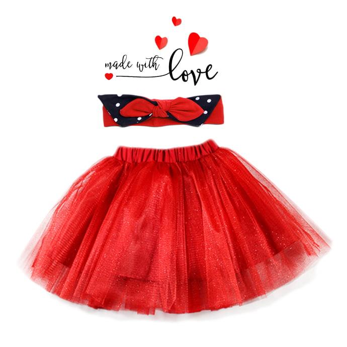 Red princess crveni kompletić za djevojčice