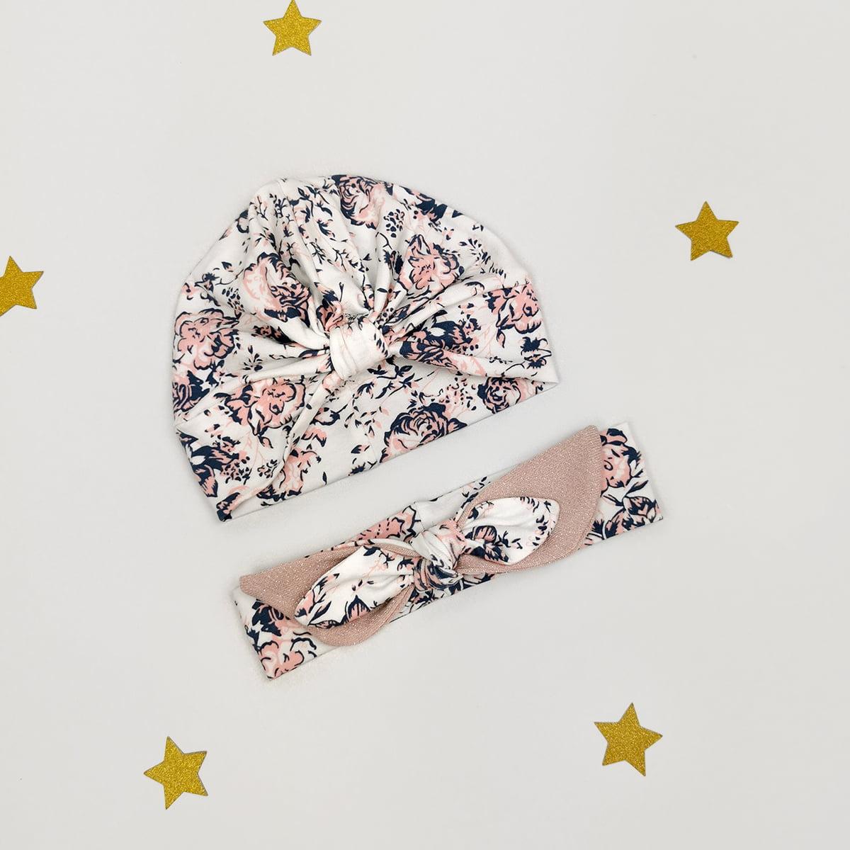 cvjetni turban i rockabilly trakica