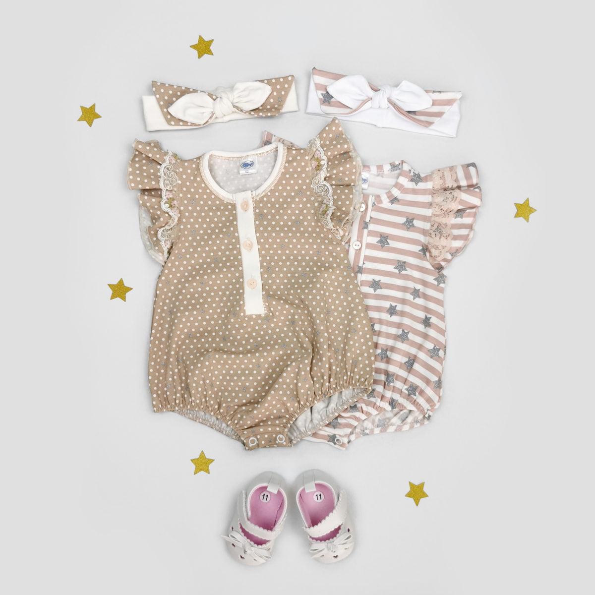 ljetni romperi za bebe s trakicama