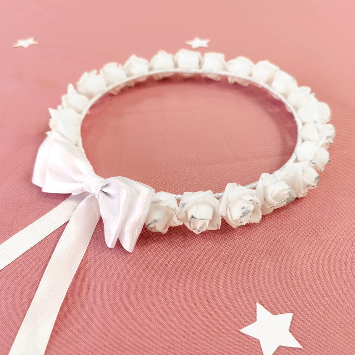 bijeli vijenac rose blossom