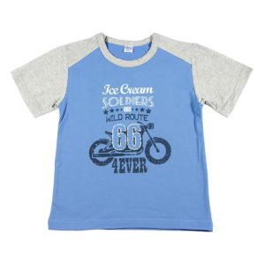 Dječja plava majica Route 66