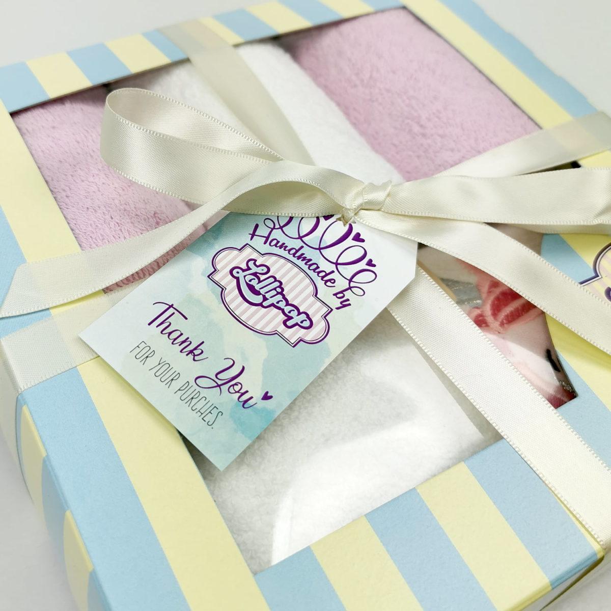 rozo poklon pakiranje ručnika za bebe