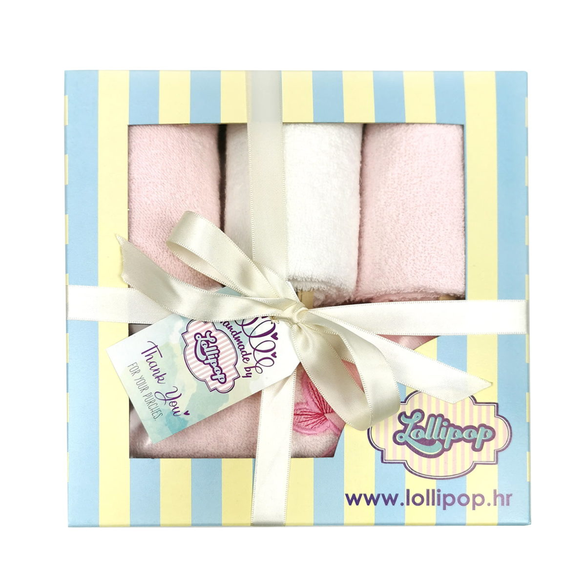 rozi set s ručnicima za bebe