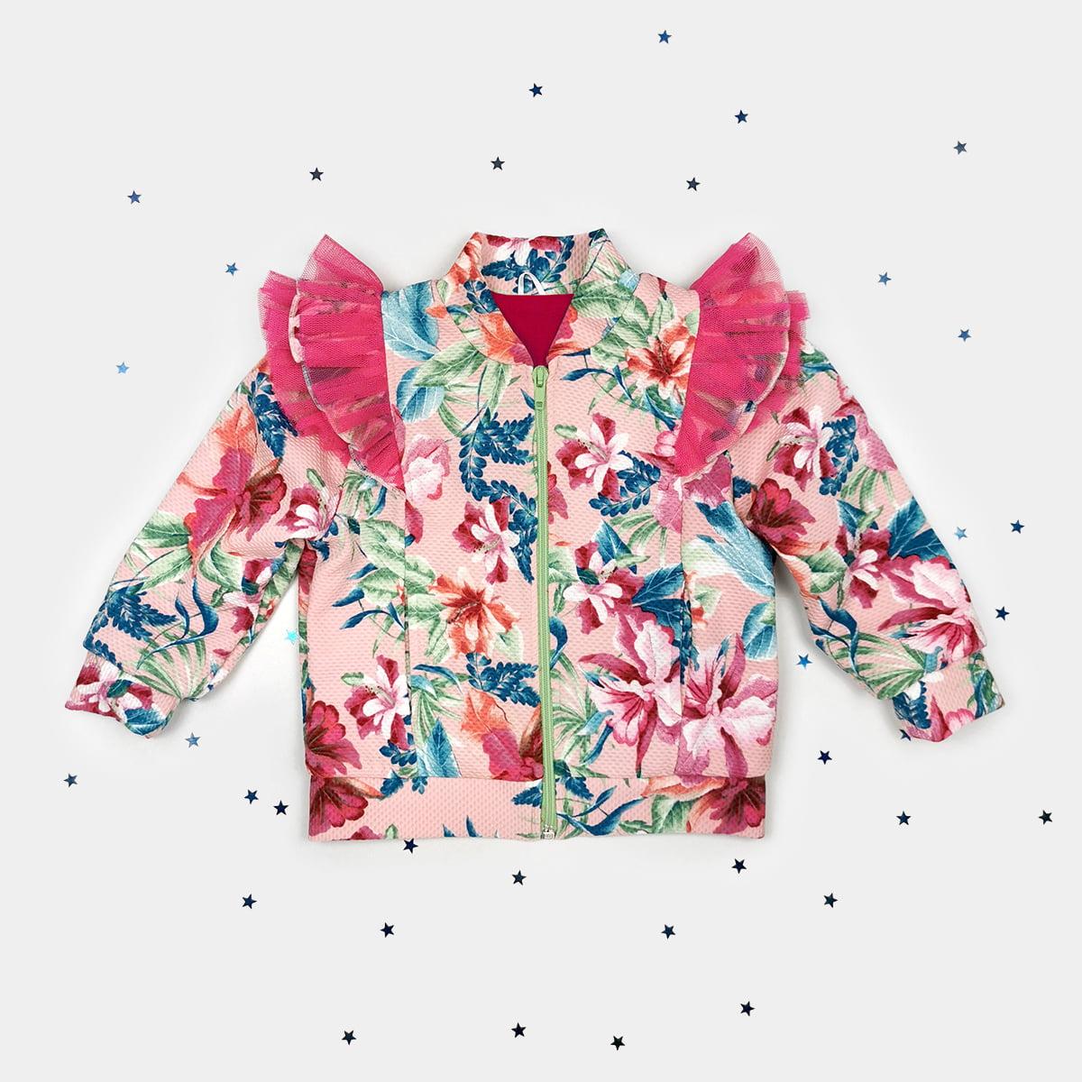 šare jaknica šareni cvjetni uzorak