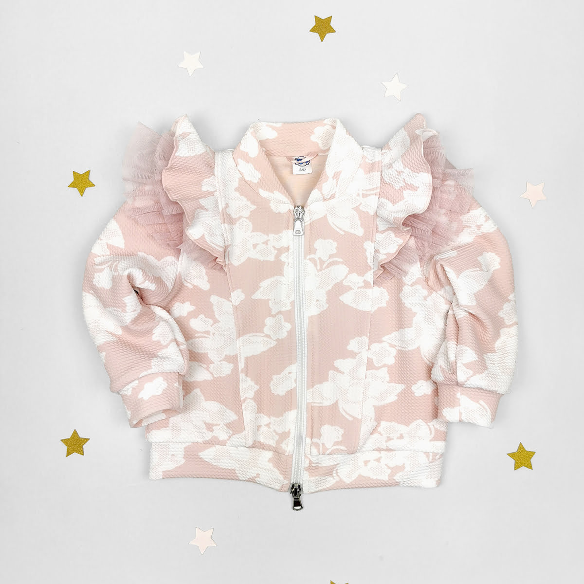 pastelna šare jaknica za bebe i djevojčice