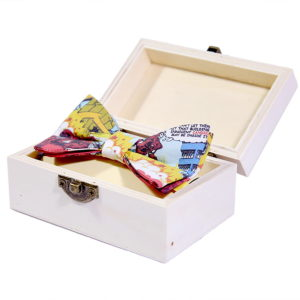 Saving candies leptir mašna u poklon kutiji