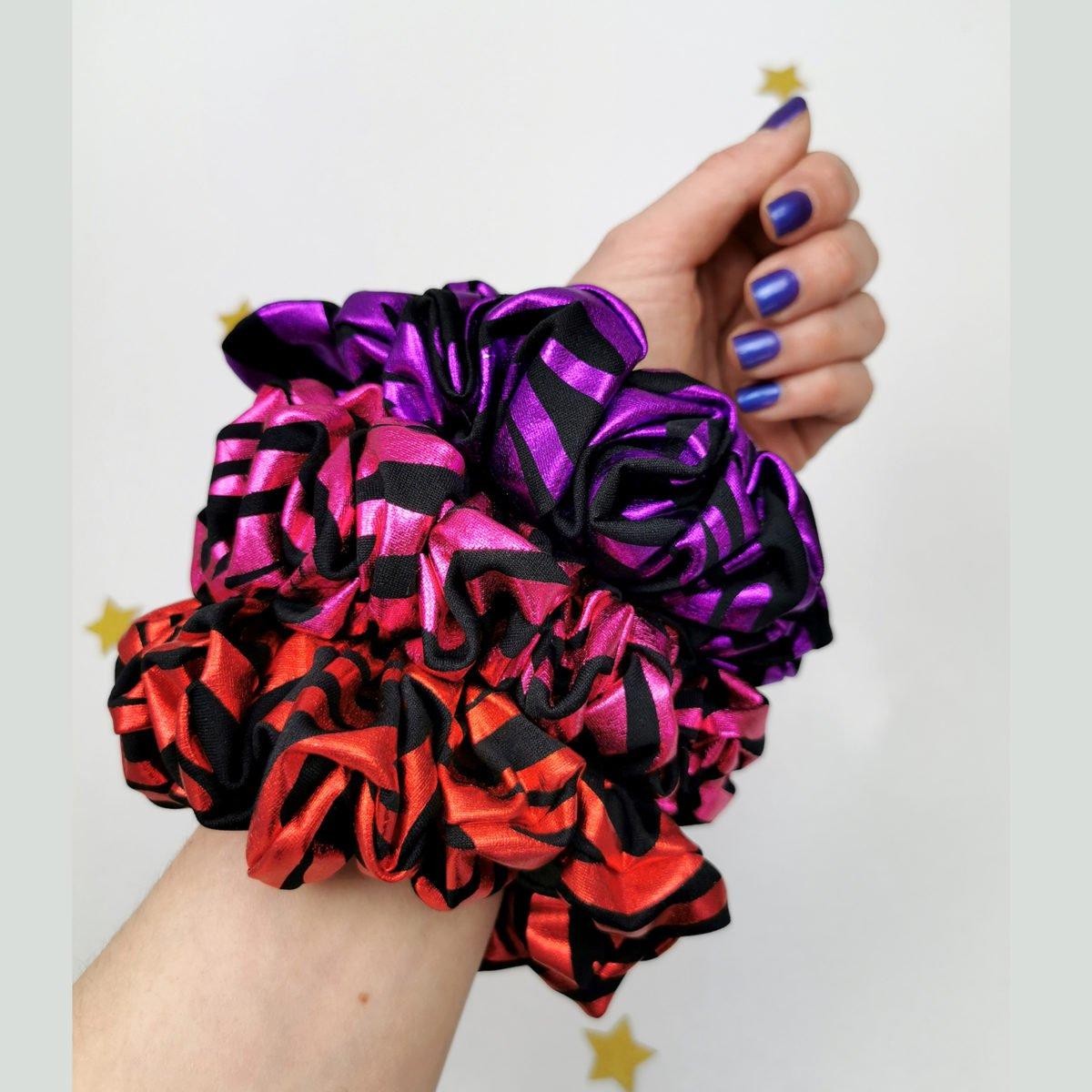 velike scrunchie gumice u puno boja