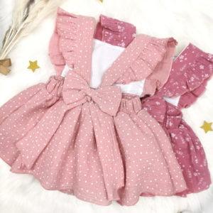 ljeten roze bodi haljine detalj