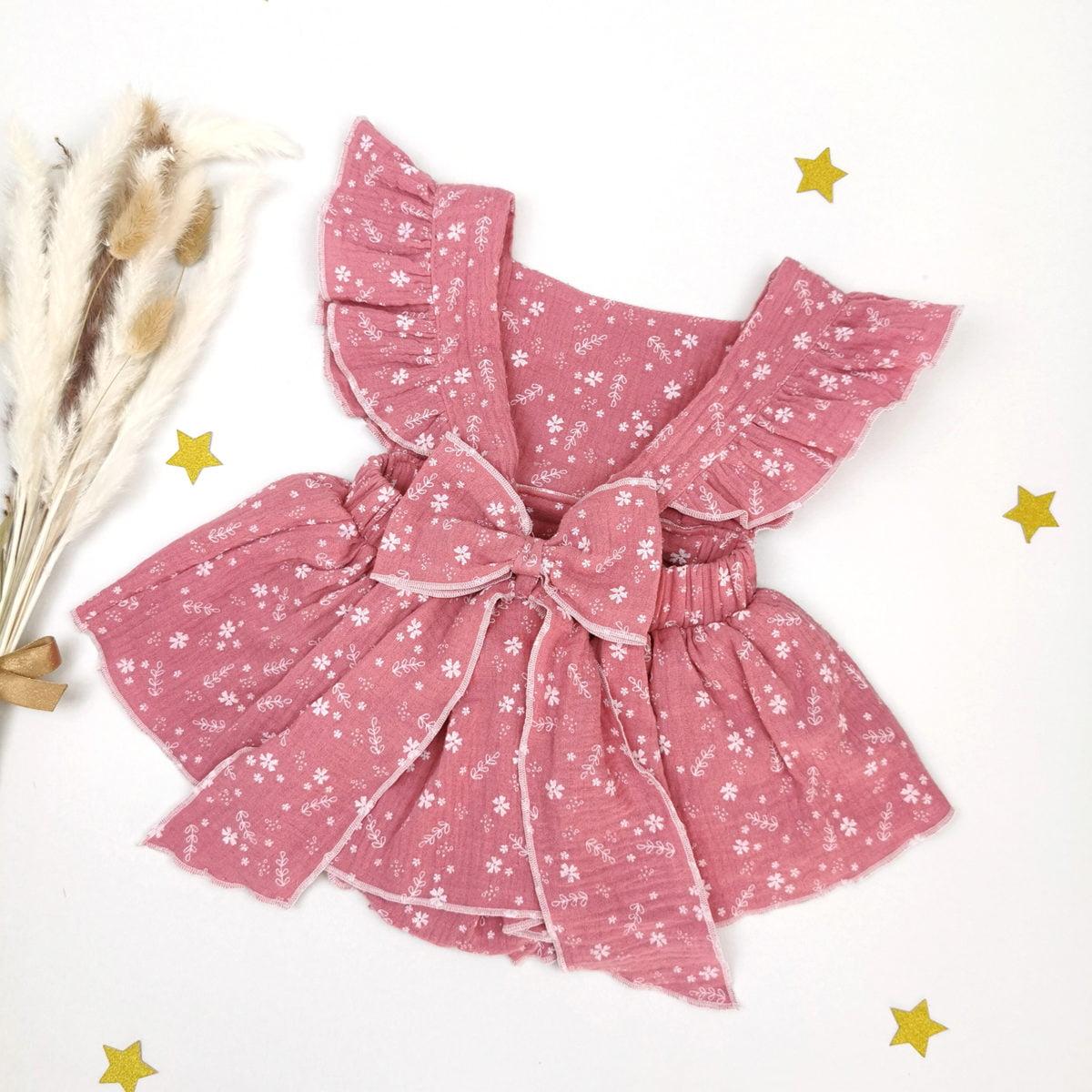 shabby chic roza bodi haljine