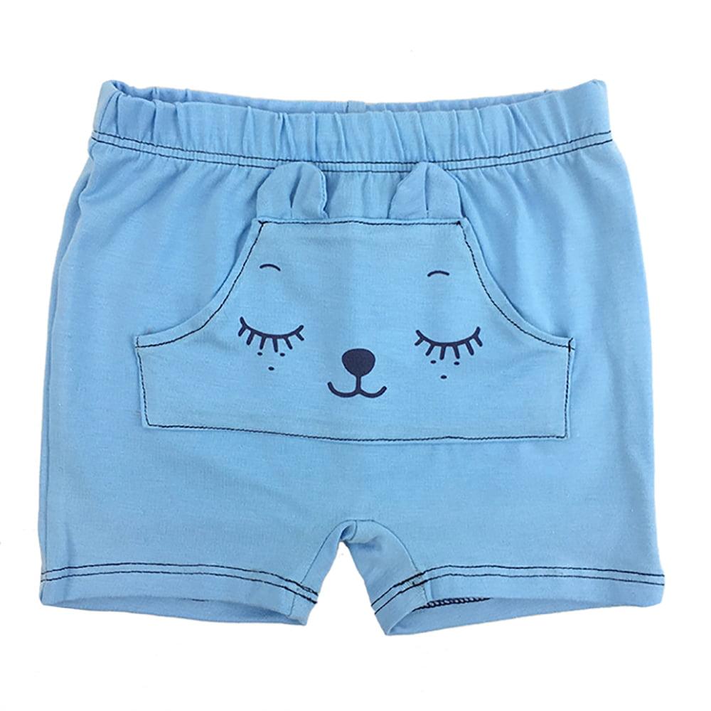 svijetlo plave shorties kratke hlače za bebe