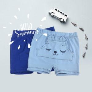 Shorties plave kratke ljetne hlače za bebe
