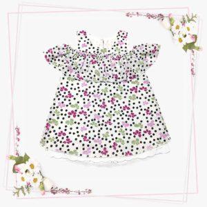 Del fiore cvjetna haljina za djevojčice