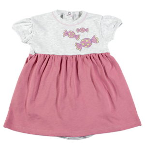 Bodi haljina za bebe kratki rukav