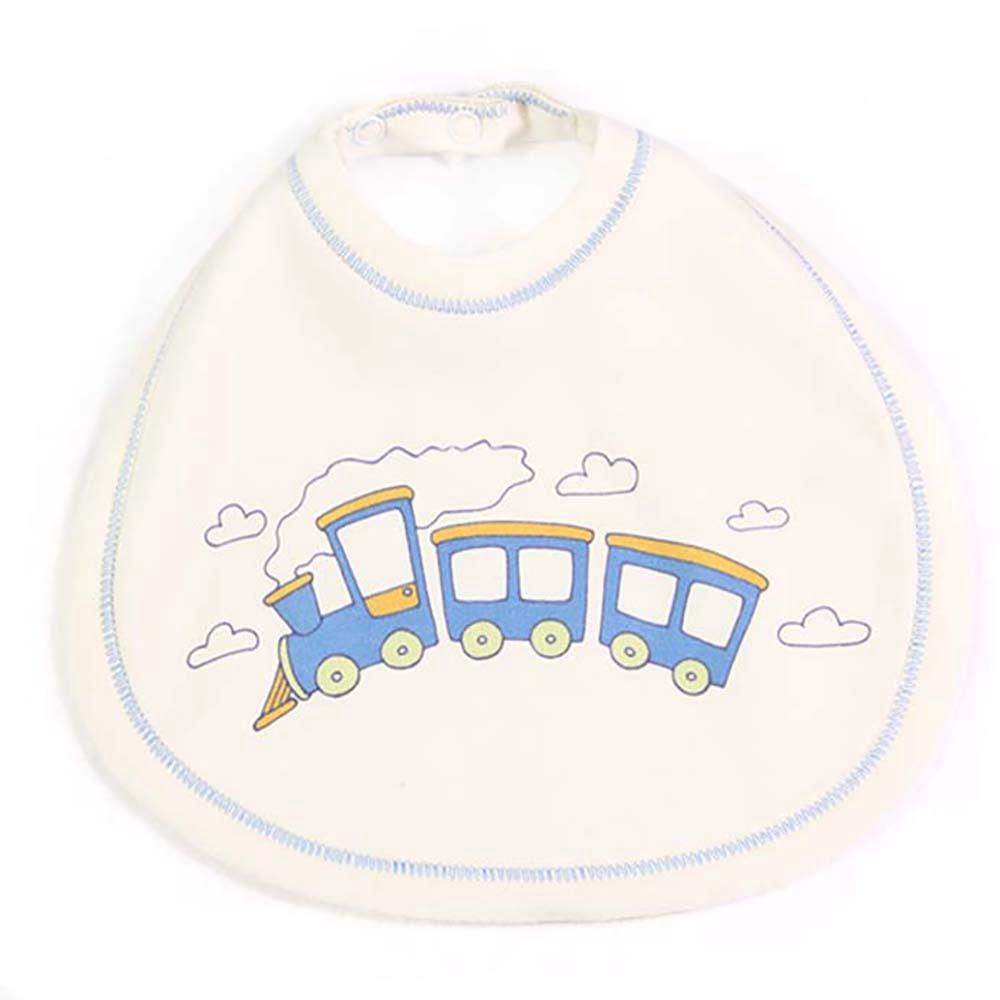 Vlakić bijeli partlek slinček za bebe