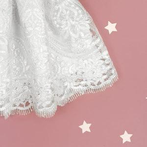 cvjetna bogata čipka Snow white haljine