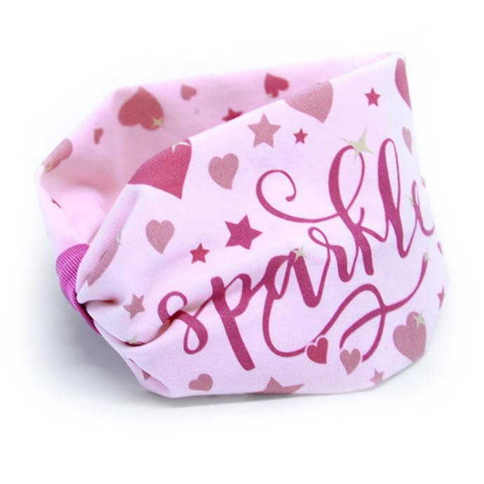 sparkle roza trakica široka