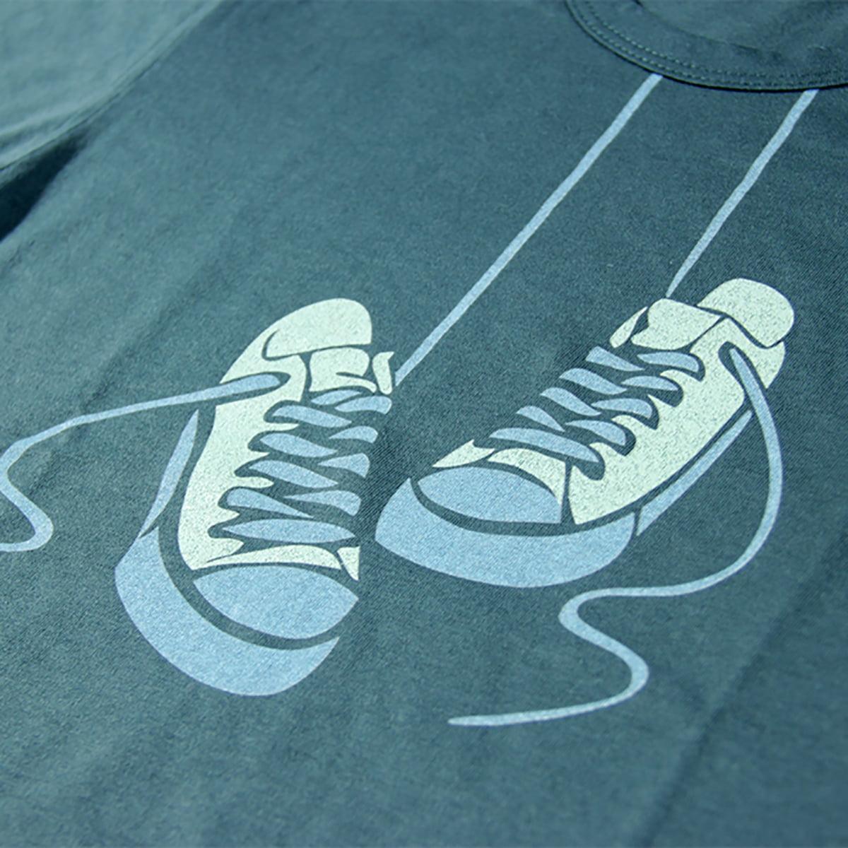 tenisice print na dječjoj majici