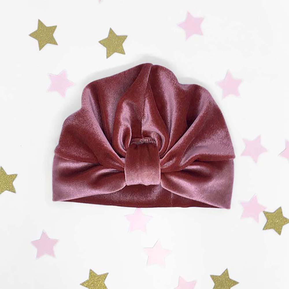 rozi plišani surinami turban kapa za djecu i odrasle