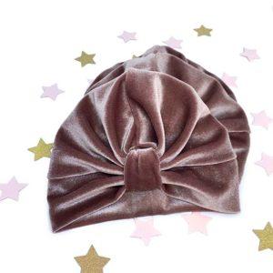 surinami velvet puder turban za bebe, djevojčice i mame