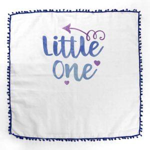 Plava pom pom tetrica ljetni pokrivač za bebe
