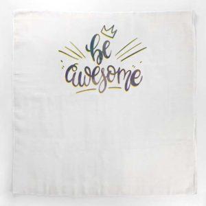 Be awesome velika tetra pelena za bebe