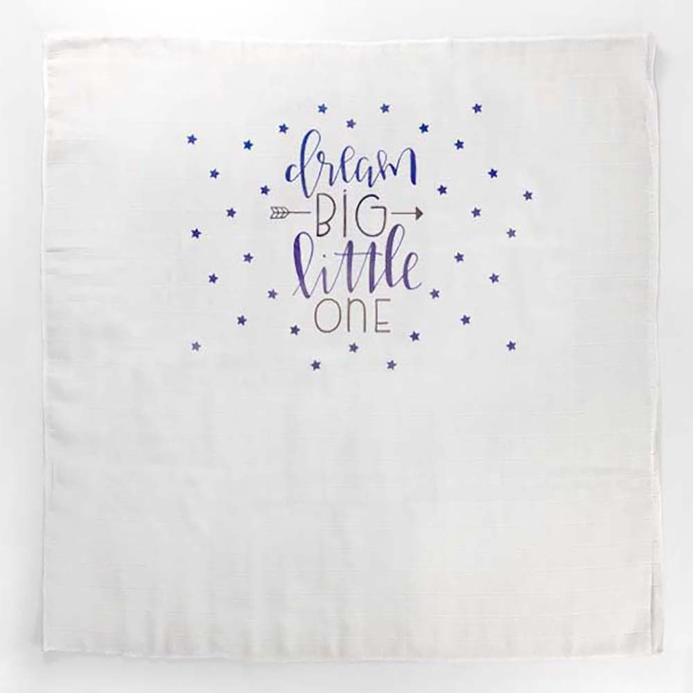 Dream big natpis velike tetra pelene za bebe