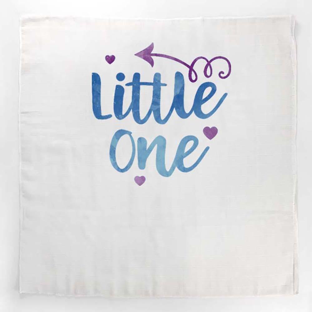 Little one plava tetrica s inspirativnim natpisom